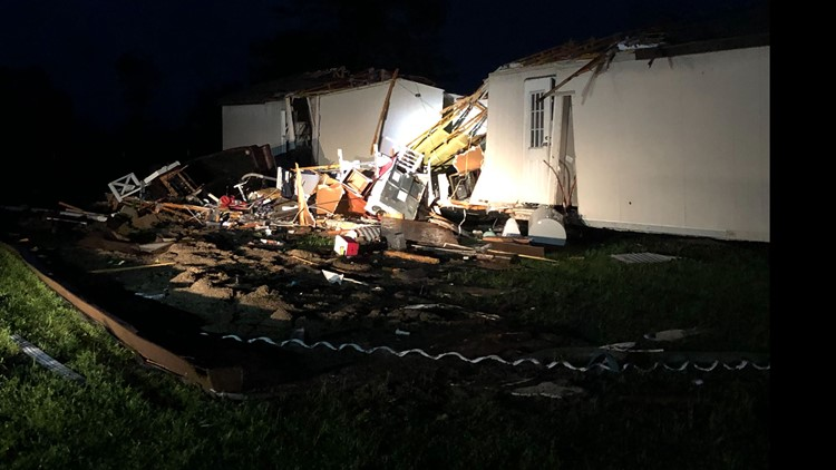 Leon County homes destroyed, two horses killed in severe storms, sheriff says