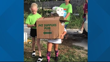 Central Texas Spotlight: Pink Warrior Angels Youth Council help local animals displaced by Copperas Cove tornado