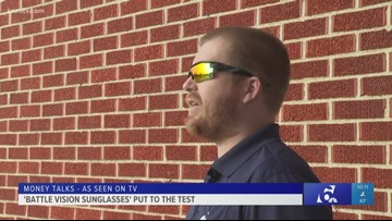 Money Talks: 'Battle Vision Sunglasses' put to the test