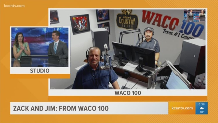 Would Waco 100's Zack & Jim try an all-beer diet?