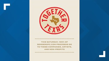 Together for Texas | Virtual concert to benefit local businesses, non-profits, artists