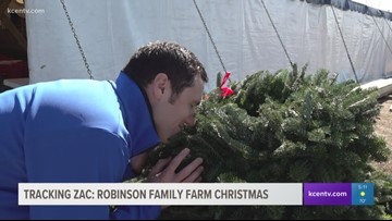Tracking Zac: Robinson Family Farm Christmas