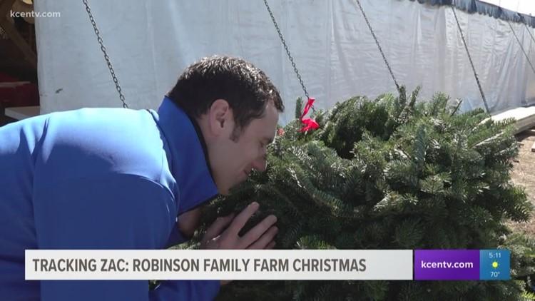 Tracking Zac: Robinson Family Farm Christmas