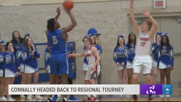 Connally boys basketball headed back to regional tourney