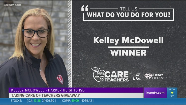 Taking Care of Teachers: Kelley McDowell from Harker Heights HS