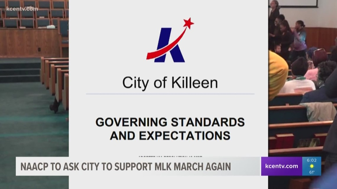 Killeen NAACP to ask city to support MLK March again