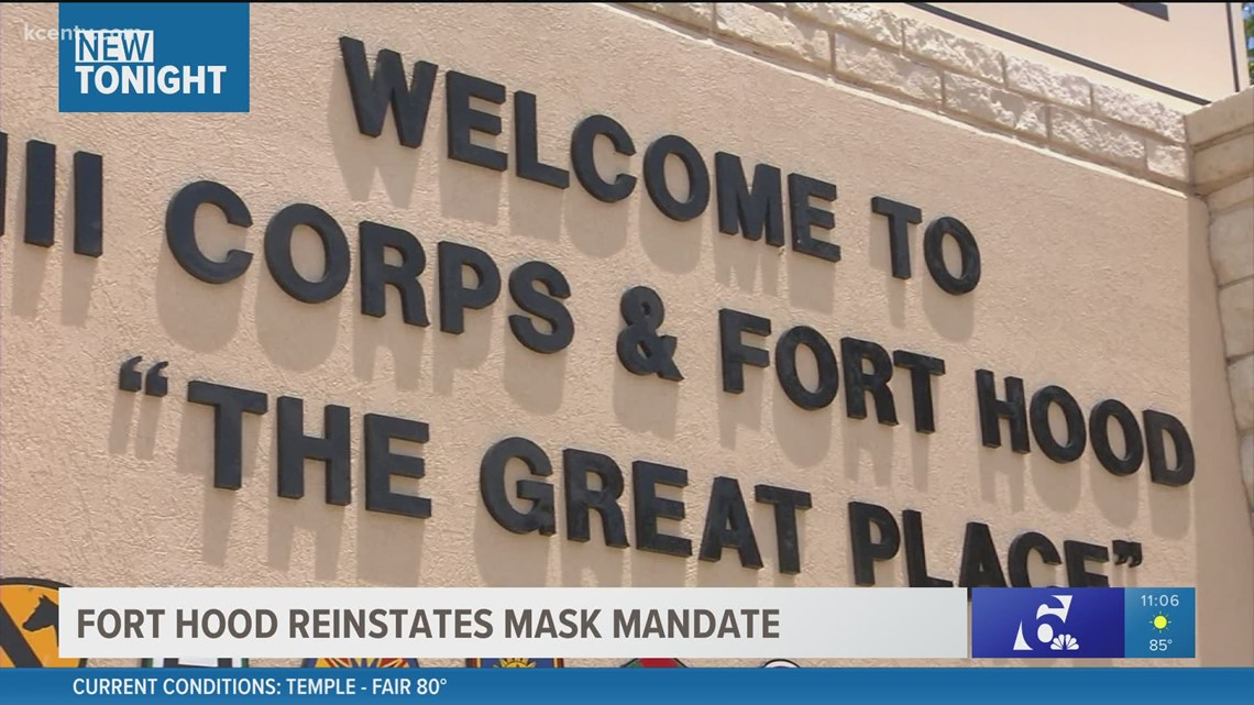 Masks now required inside all Fort Hood facilities, military post says