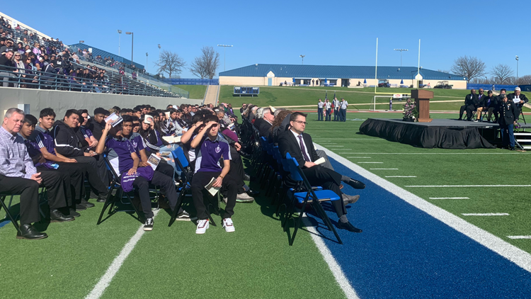 Hundreds gather to remember University High Coach Mike Chapman