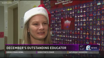 December's Outstanding Educator