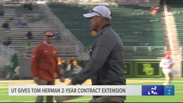 UT gives Tom Herman 2-year contract extension