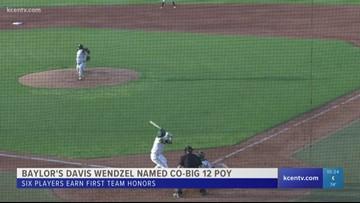 Baylor Baseball's Davis Wendzel named Co-Big 12 Player of the Year