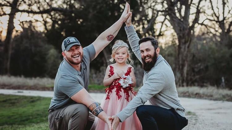 Viral dads Dylan Lenox and David Lewis