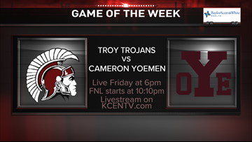 Troy meets Cameron Yoe in the Week 5 Game of the Week