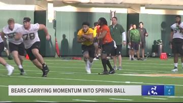 Baylor football carrying momentum into spring ball