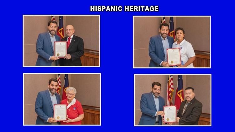 City of Killeen celebrates Hispanic Heritage Month with ceremony at city hall