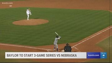 Baylor baseball to start 3-game series vs. Nebraska