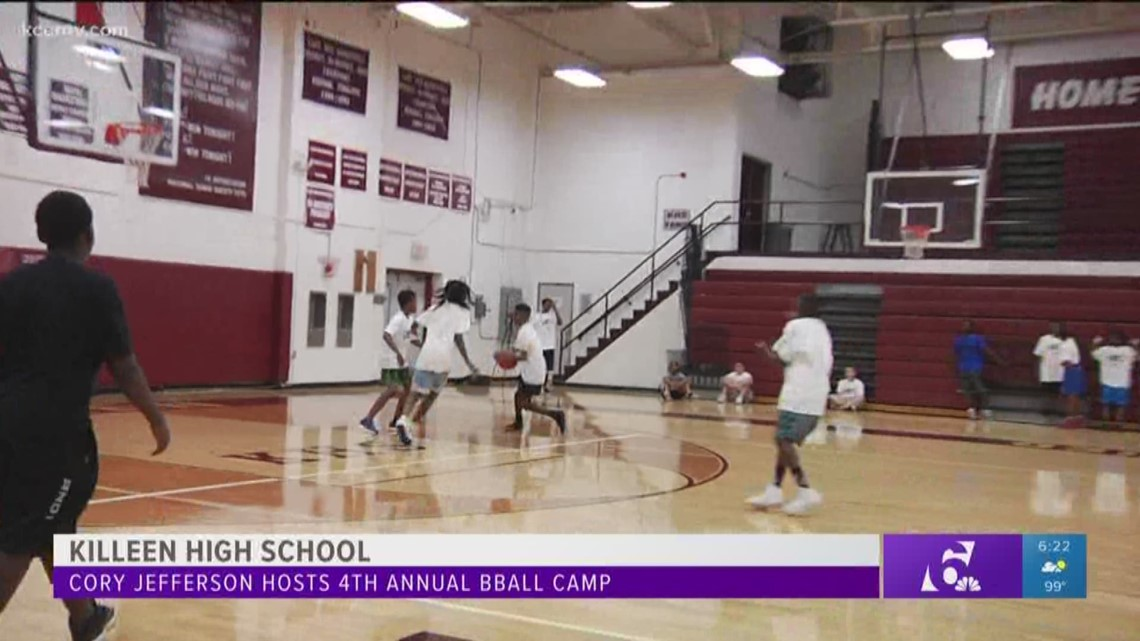 Cory Jefferson hosts 4th annual basketball camp