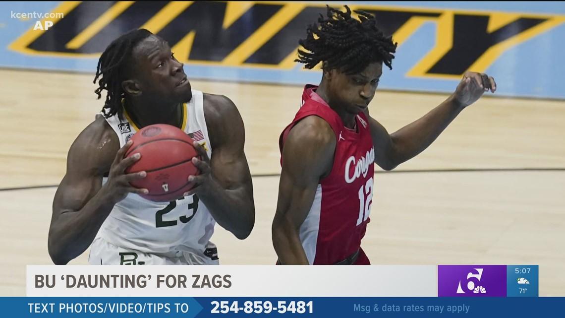 Baylor Bears 'daunting' for Gonzaga