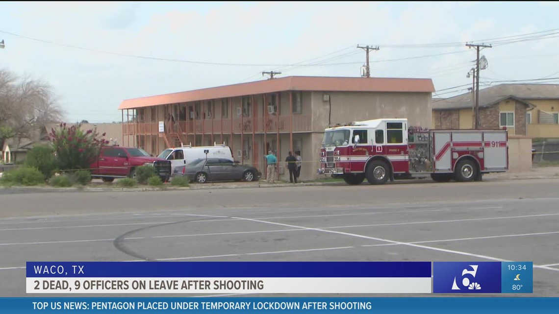 Police identify man killed at Waco apartments in SWAT situation turned officer-involved shooting