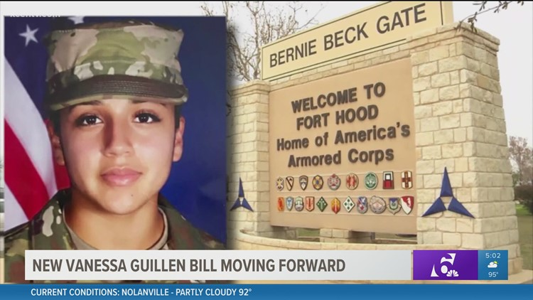 New Spc. Vanessa Guillen bill moving forward in Congress