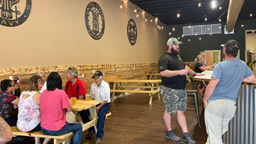 Veteran-owned Fire Base Brewing Company opens for business in Temple