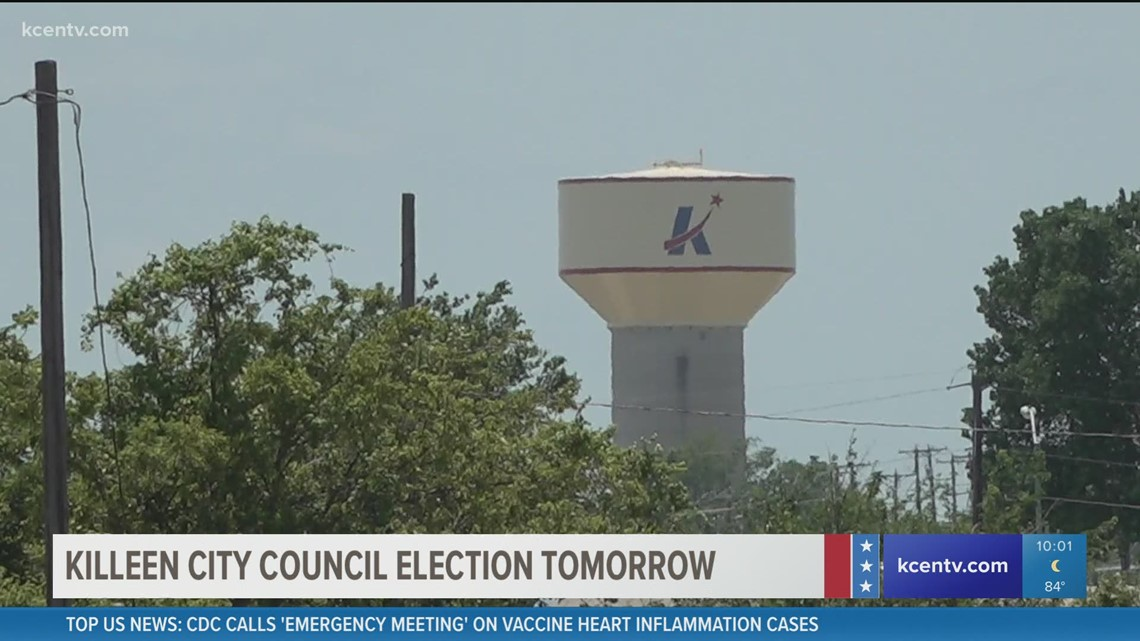 Killeen City Council District 4 candidates spend Friday campaigning ahead of Saturday's run-off election