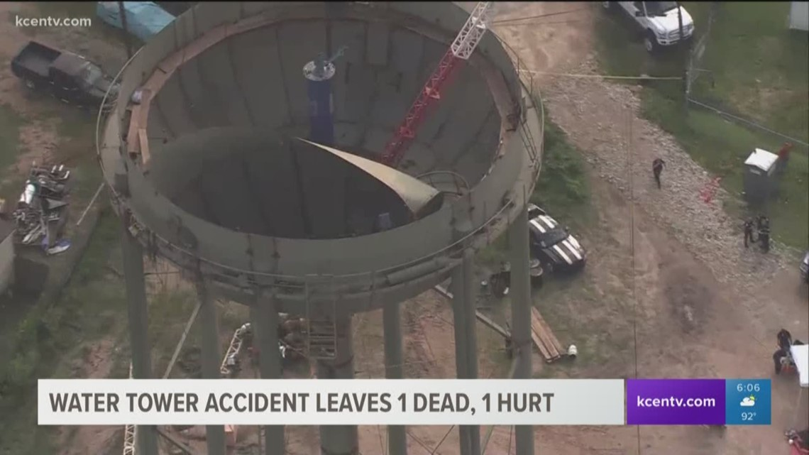 Construction Accident At A Porter Water Tower Kills One | Kcentv.com