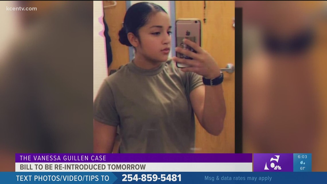 'I Am Vanessa Guillen' Act to be re-introduced Thursday