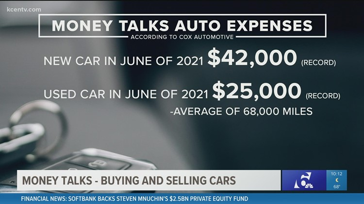 Money Talks | Buying and selling cars