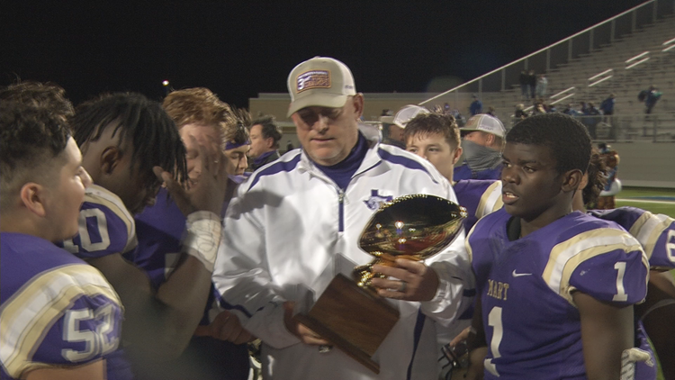 Mart falls in state title game