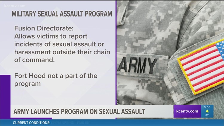 Army launches pilot program to address sexual violence claims