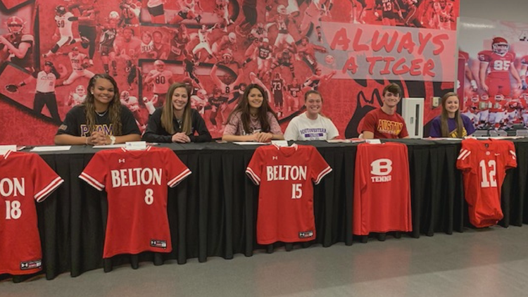 020520 Belton High School signings