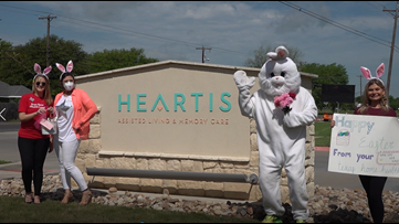 The Easter Bunny comes early for Waco elderly