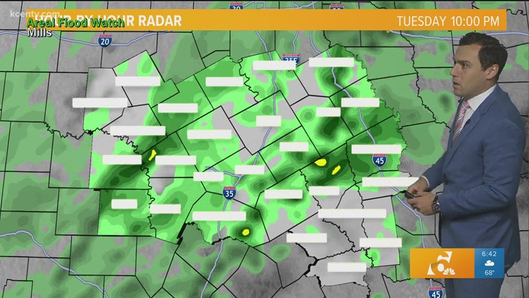 Showers & Thunderstorms Return Today