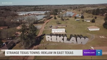 Strange Texas Towns: Reklaw in East Texas