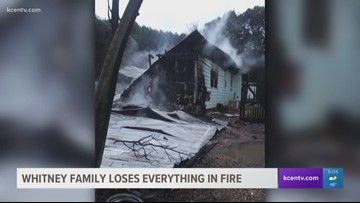 Whitney familiy loses home in fire