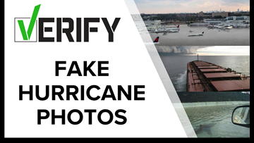 Real or Fake? Viral hurricane photos | VERIFY