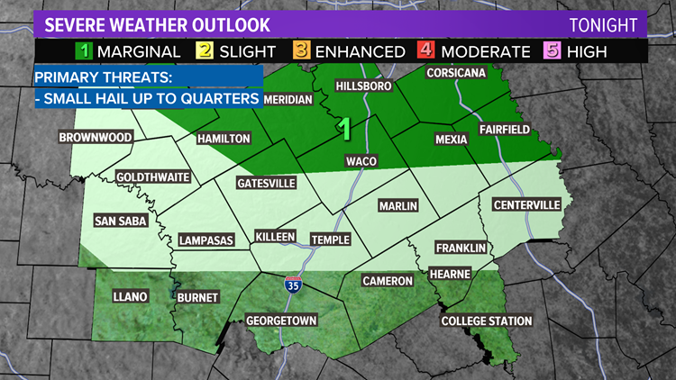Cooler and wet to end the work week | Central Texas Forecast