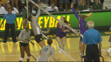 5 years, 2 names, 1000 kills: how faith, family and volleyball shaped Shelly Stafford and the Baylor program