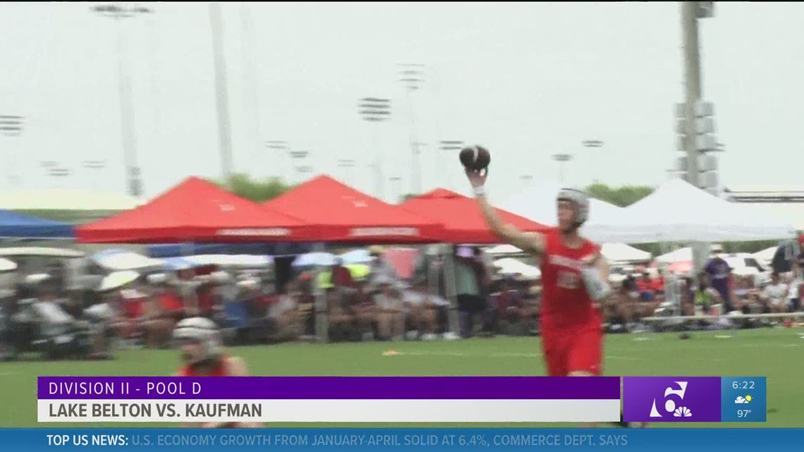 Lake Belton makes debut at State 7-on-7 while Academy wins pool