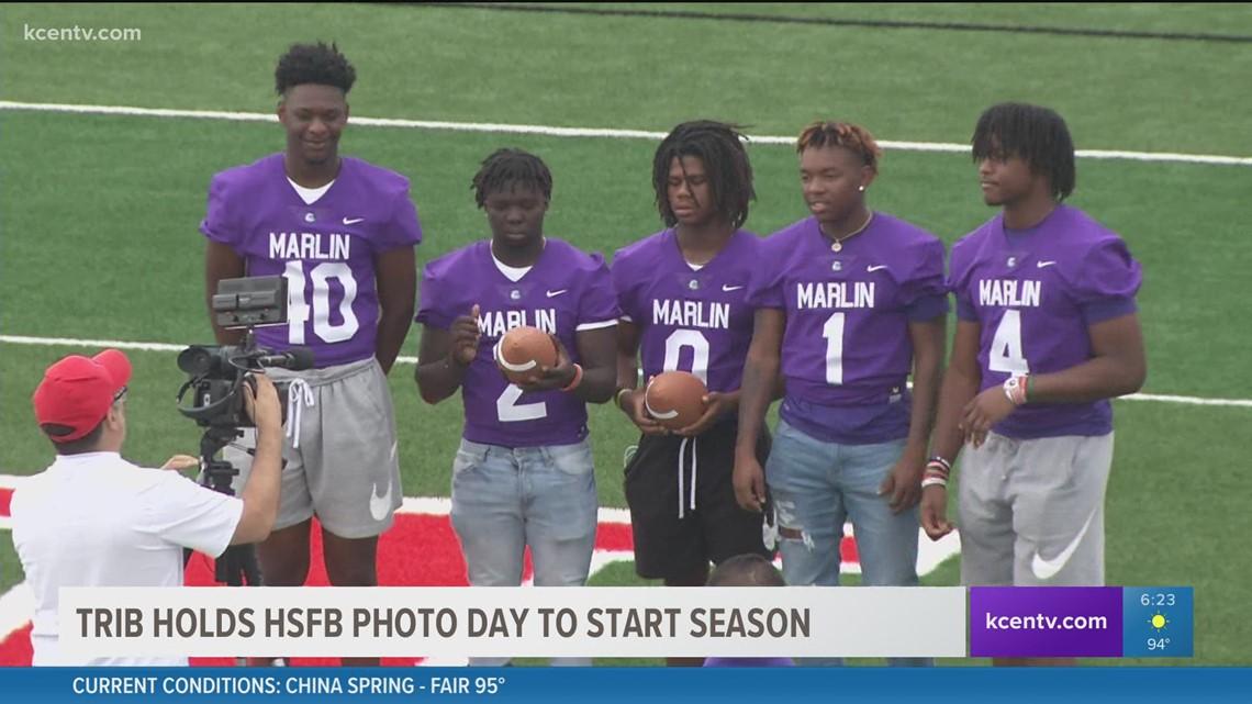Waco Trib holds HS football photo day to start season