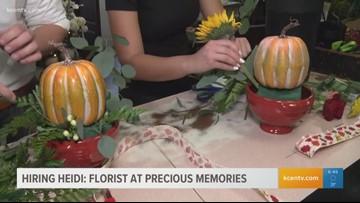 Hiring Heidi Showdown: Florist at Precious Memories