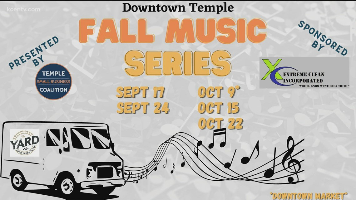 Downtown Temple Music Series Begins Friday Night
