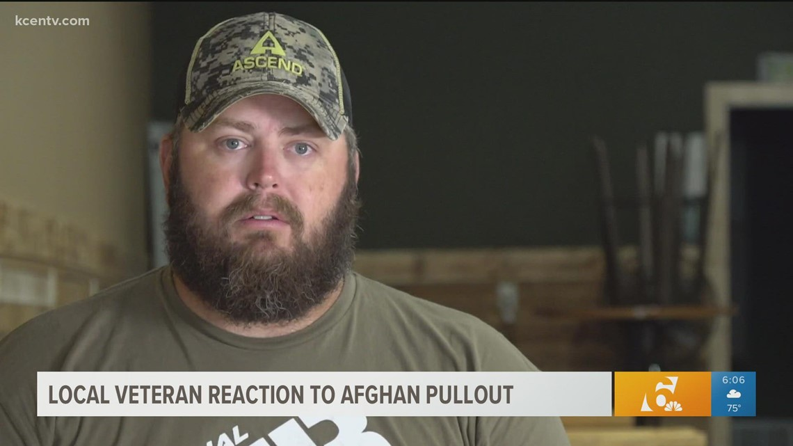'It hits you deep' | Veteran opens up as America's longest war comes to an end