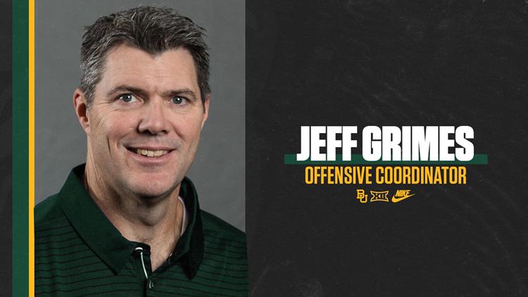 Jeff Grimes named Baylor Offensive Coordinator