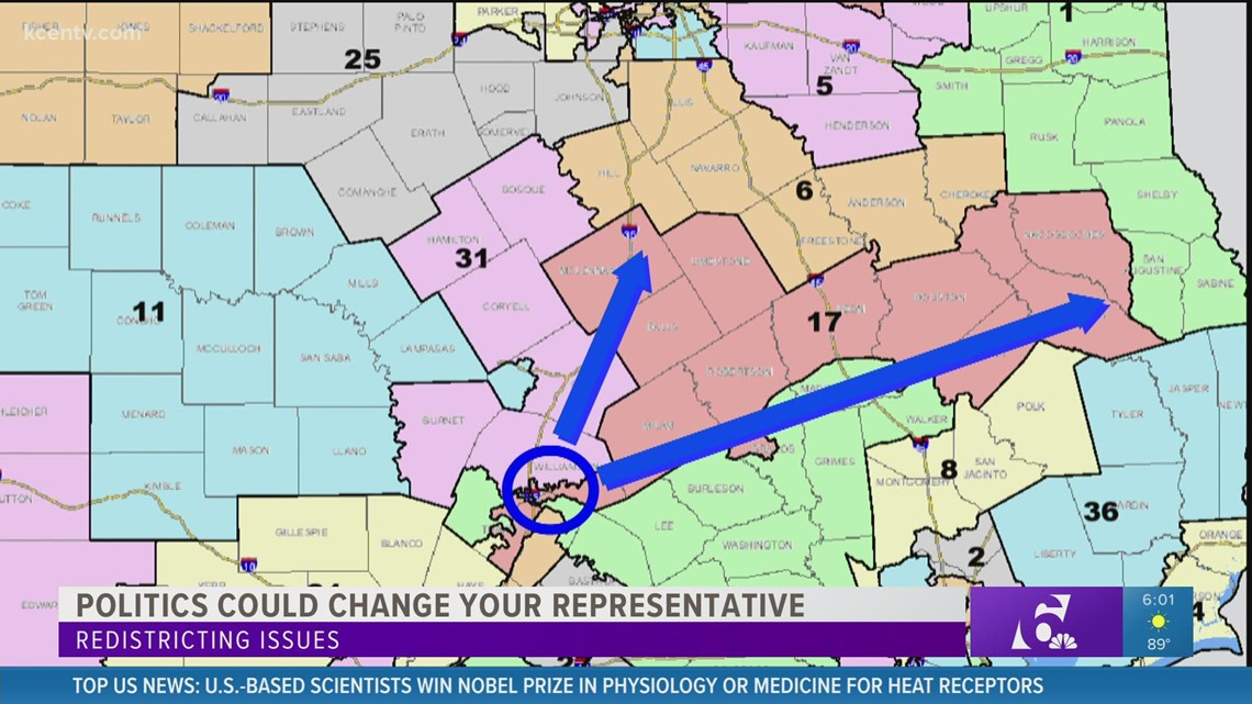 Redistricting issues: How politics could change your representative