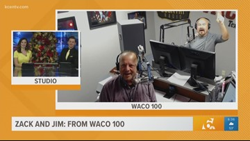Zack & Jim: Special guest will take the Waco 100 airwaves Wednesday