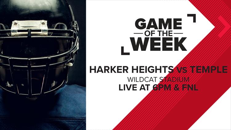 Week 6 Game of the Week: Harker Heights vs. Temple