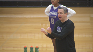 UMHB Women's Basketball hosts college experience overnight camp