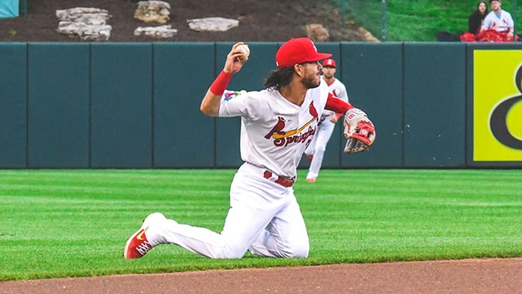 Cardinals place Midway graduate on playoff roster